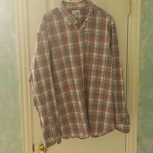 5/$20** Sonoma Plaid Shirt
